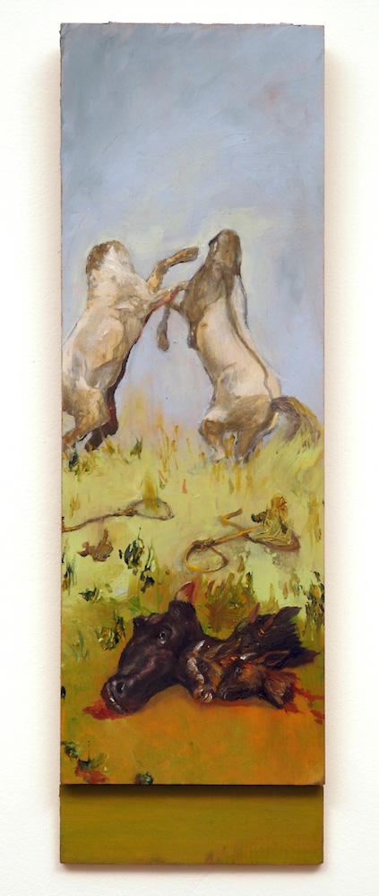 Well diggers Triptych_sarah gonek zar 2006 headless horses