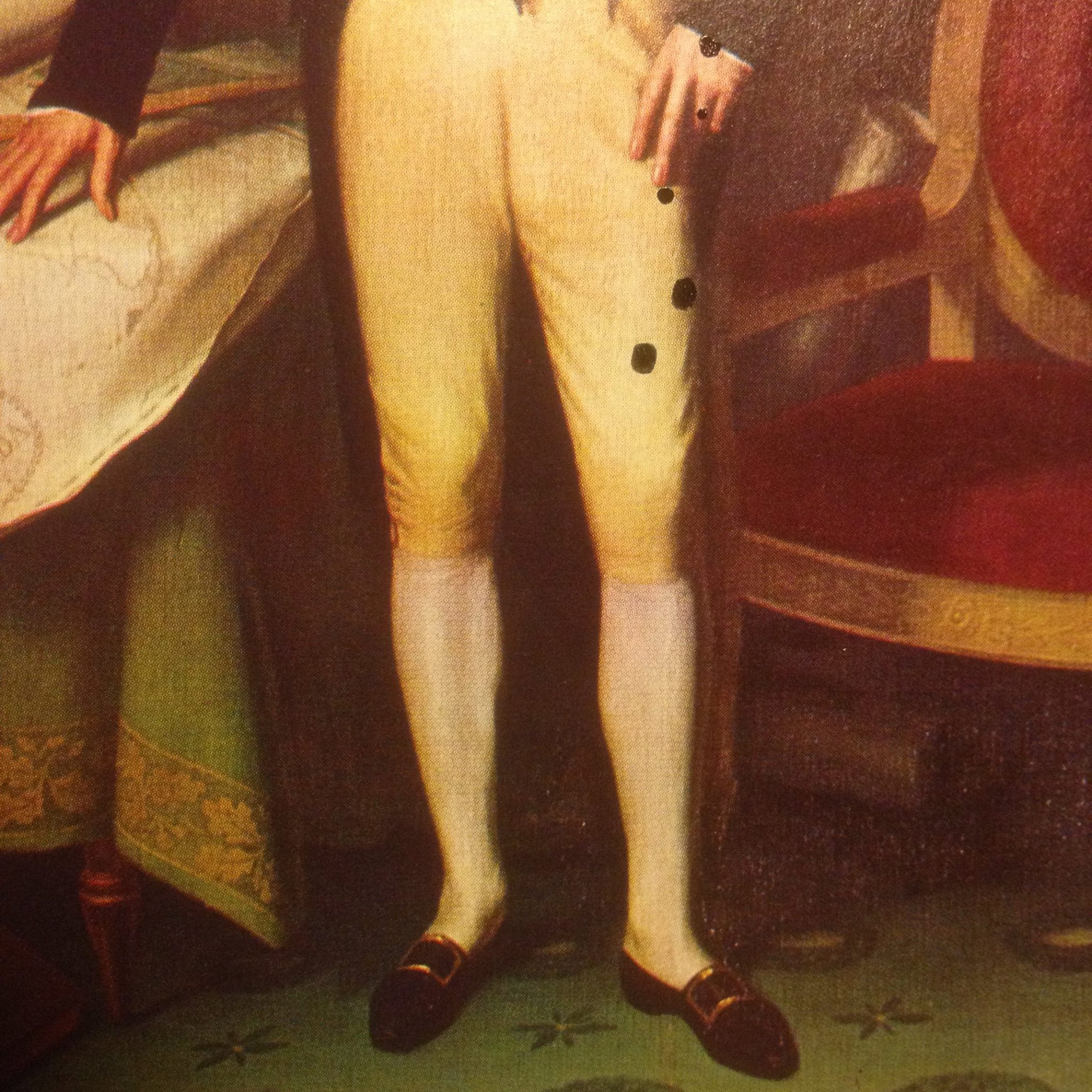 "Detail: ""James Monroe has Spotted His Pants"""